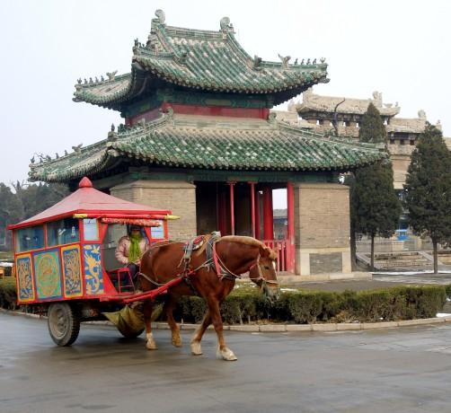 Near Confucius Cemetery
